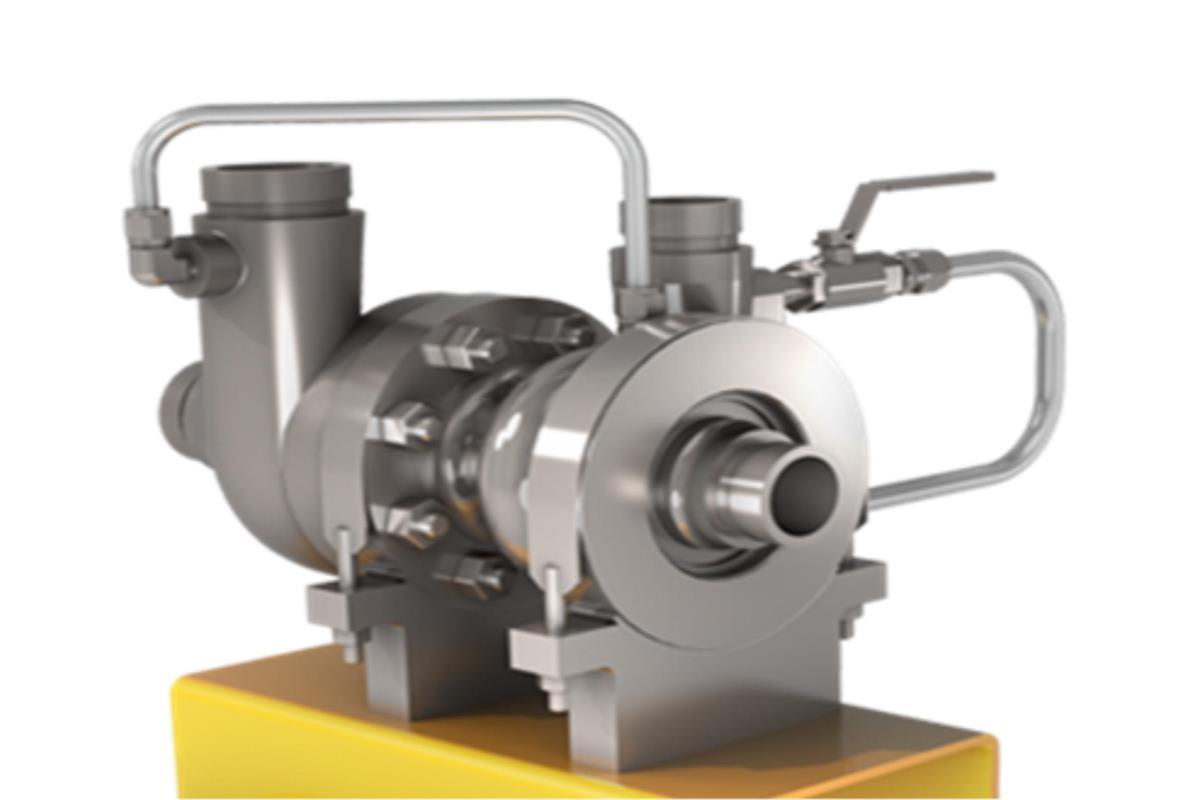 能量再利用径向增压泵