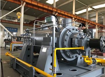 沈阳市工业泵厂(有限公司)两台高温高压 亚临界锅炉给水泵顺利交付